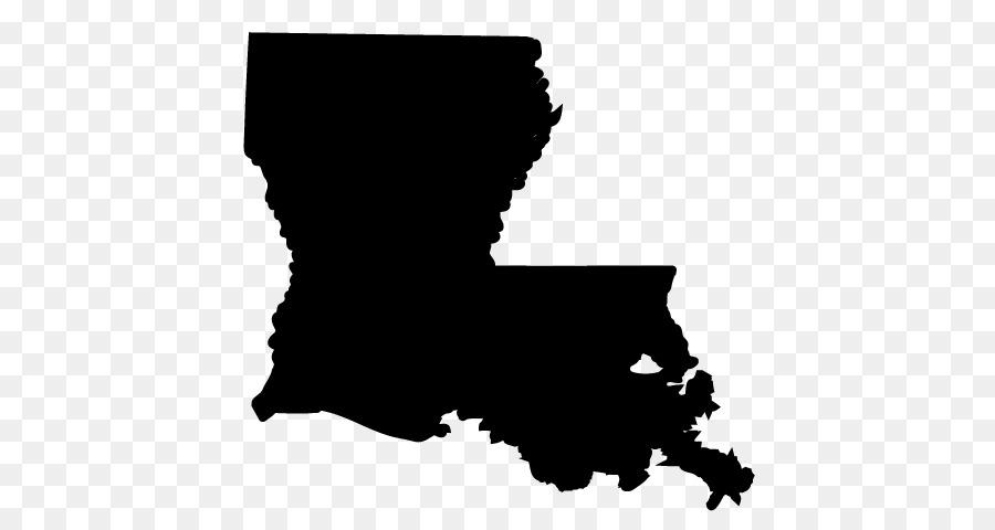 White illustration black silhouette. Louisiana clipart background