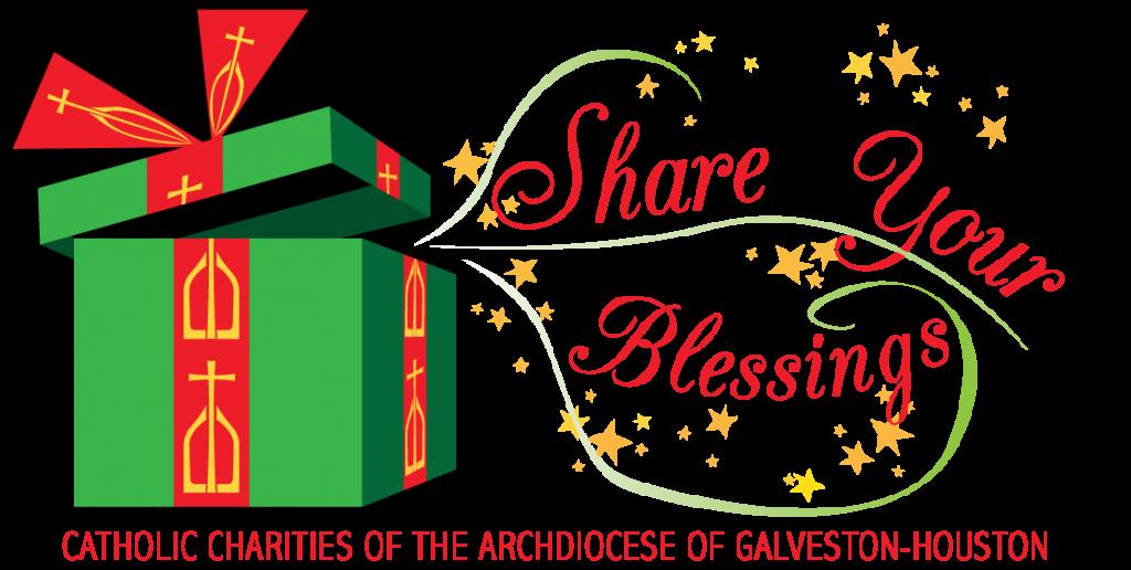 Shareyour blessings campaign catholic. Louisiana clipart christmas