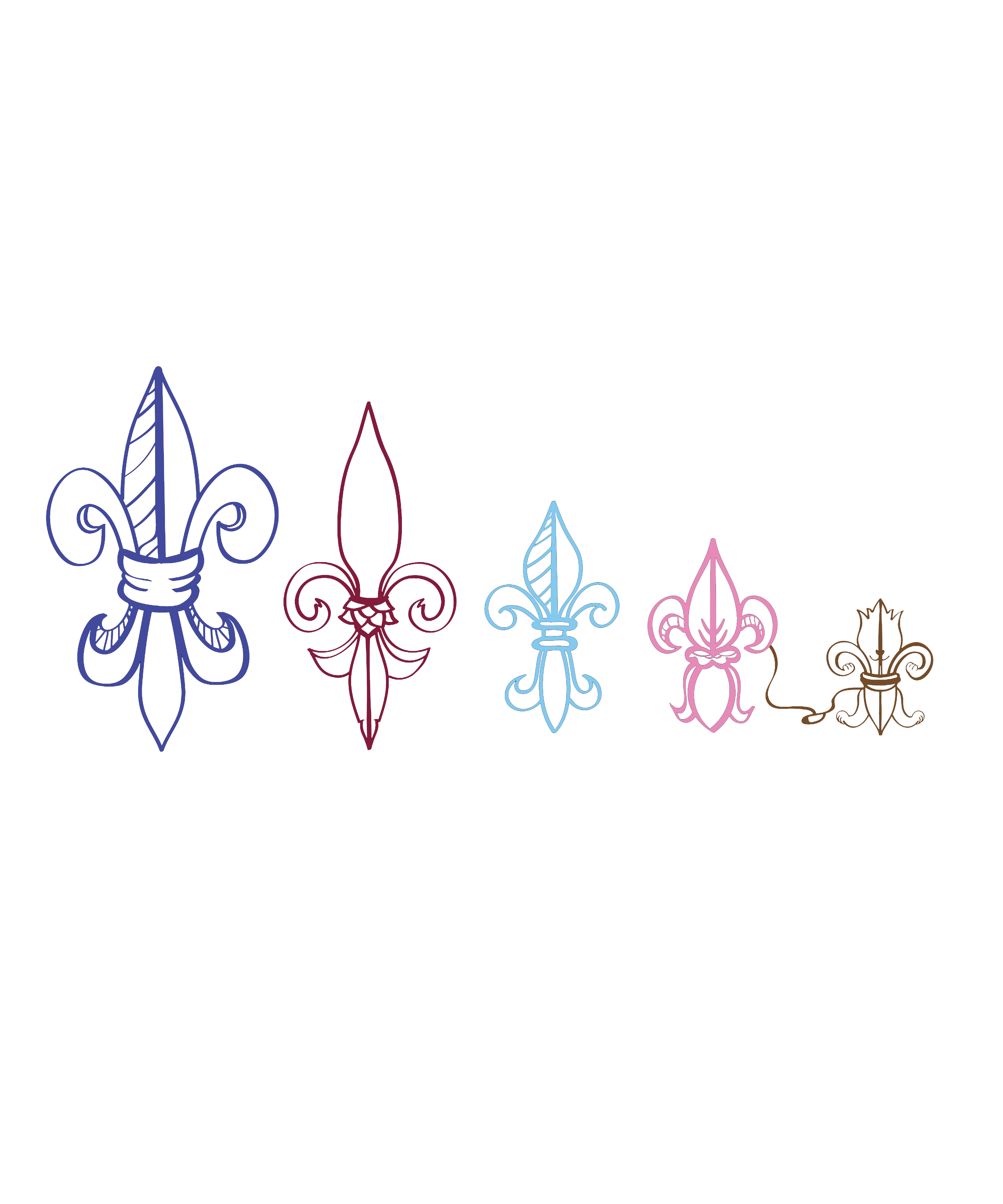 Louisiana clipart fleur. De lis family artwork