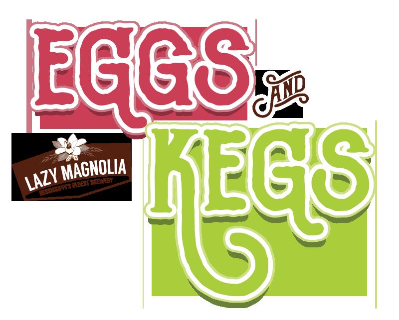 Eggs kegs brunch lazy. Louisiana clipart magnolia