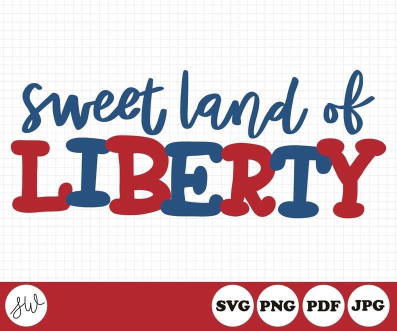 Sweet land of liberty. Louisiana clipart pride