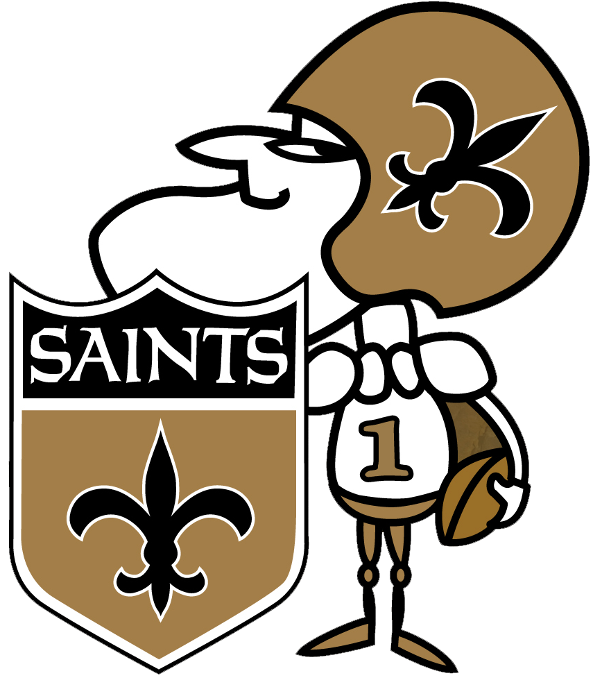 Louisiana clipart saints, Louisiana saints Transparent ...