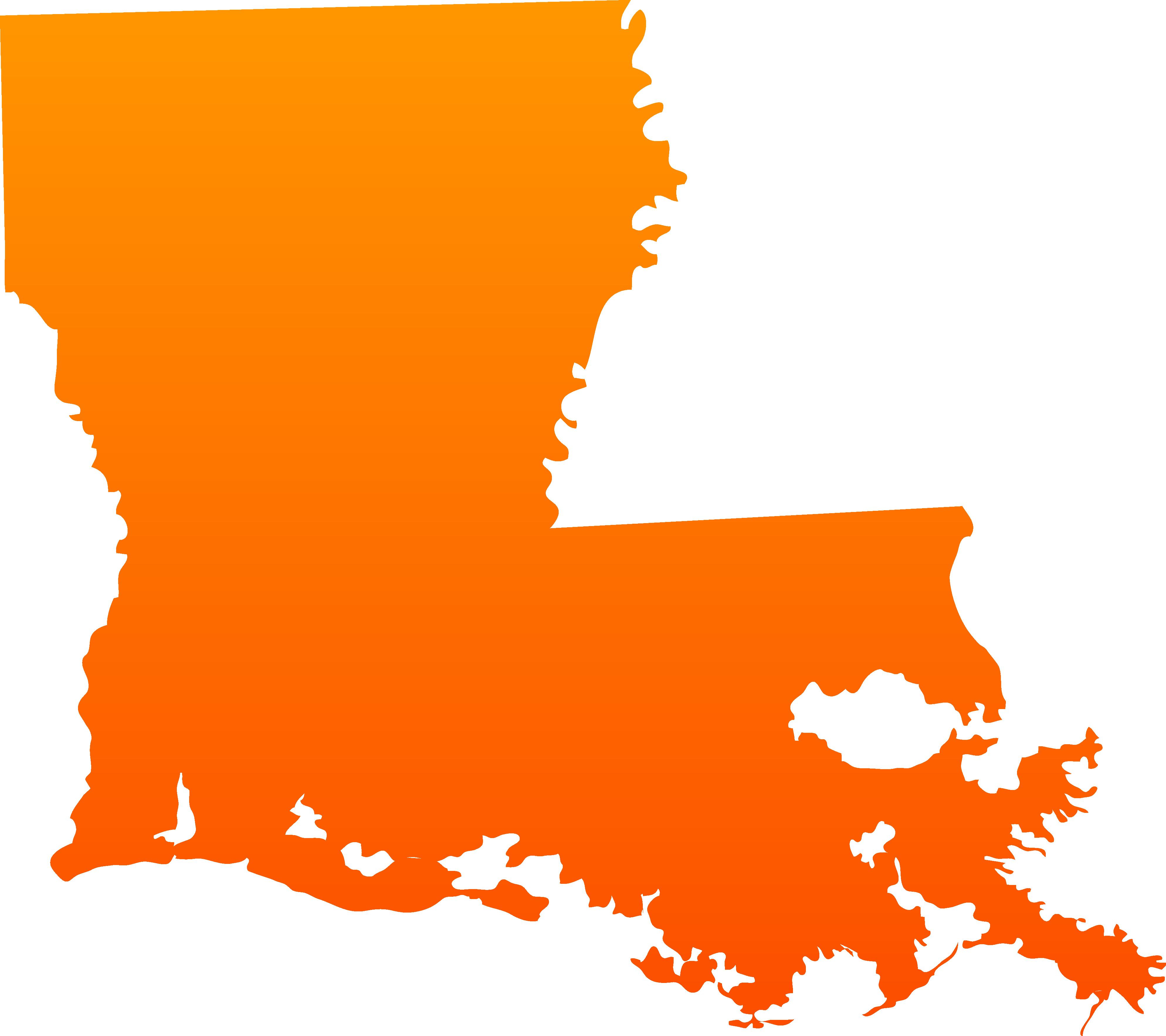 Design clipart orange. Louisiana clip art free