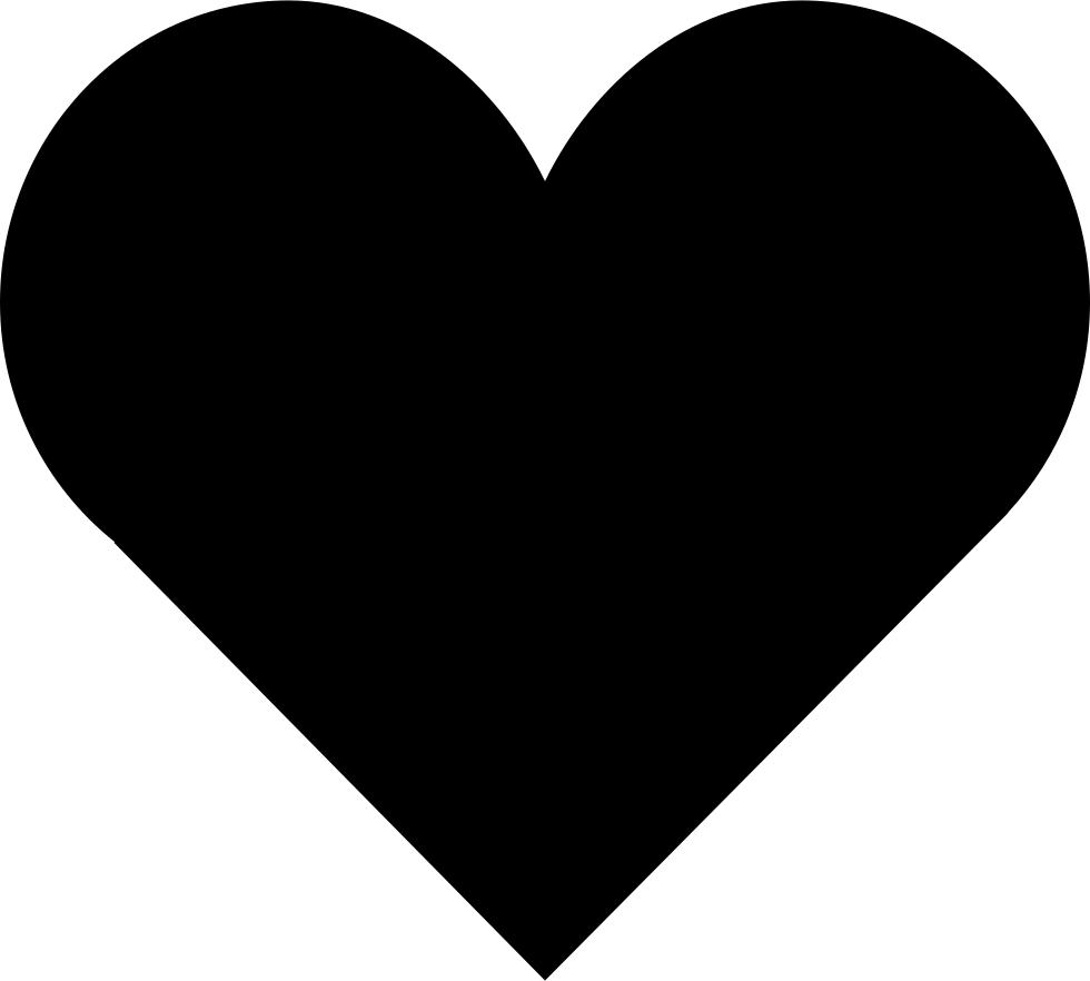 Love clipart icon. Loving heart shape svg