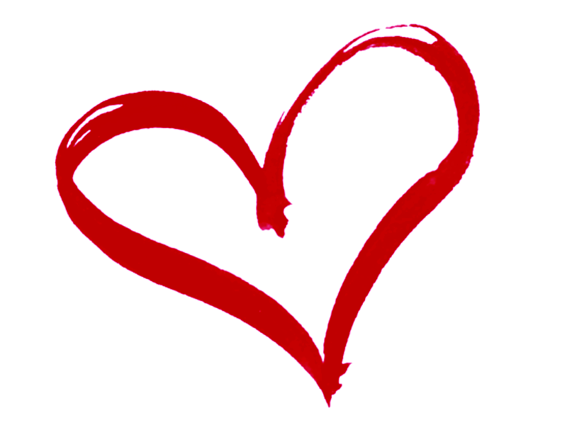 Pink heart atexglat chris. Love clipart outline