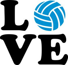 Quotes about clip art. Volleyball clipart love