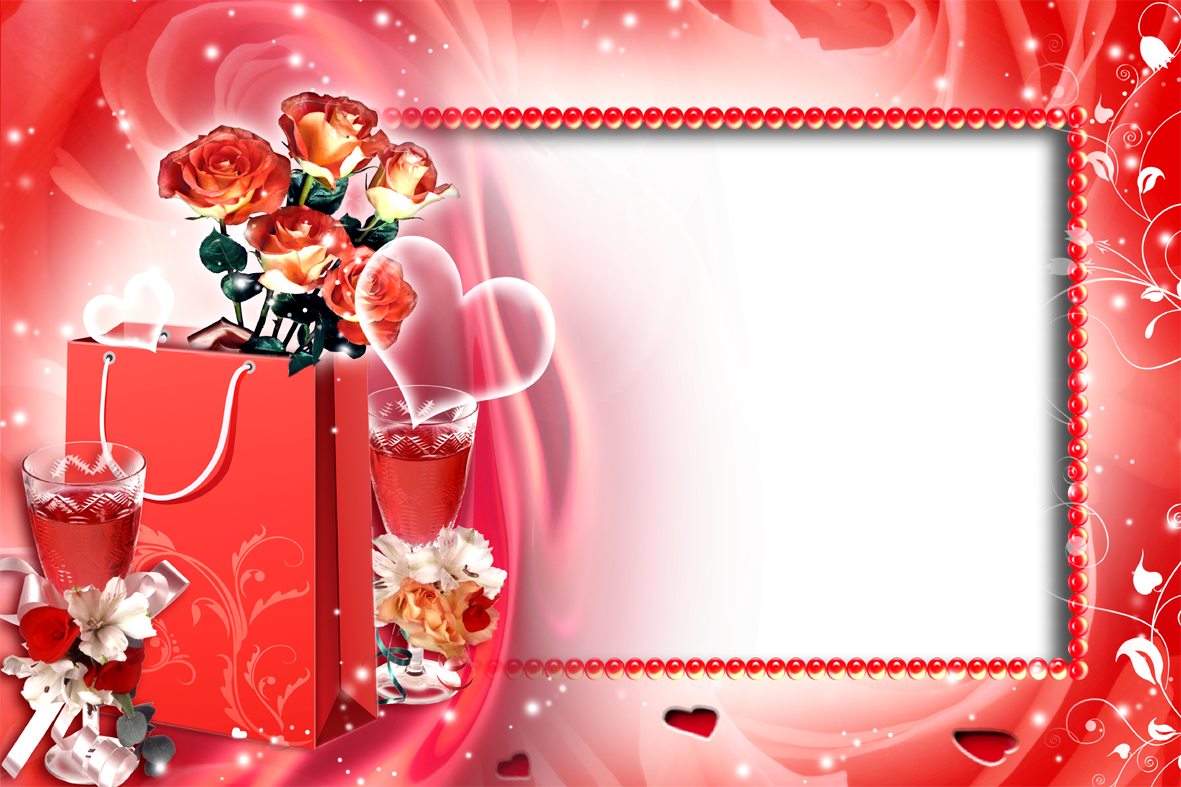 Romantic frames transparent image. Love frame png