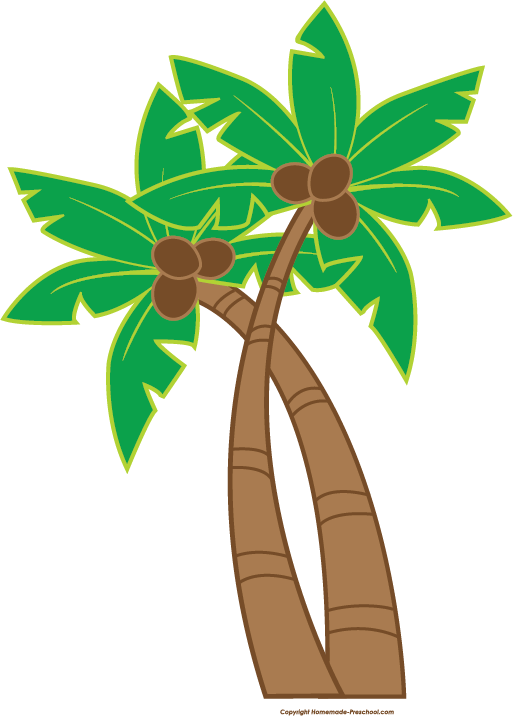 Fun and free luau. Clipart birthday tree