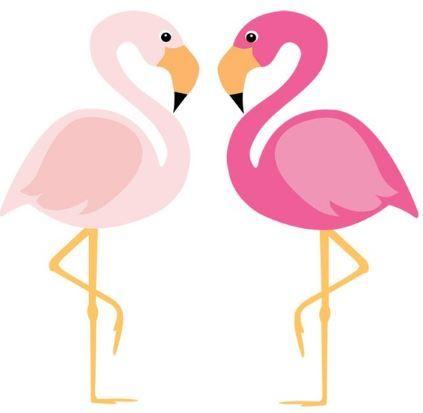 Clip art for a. Luau clipart flamingo