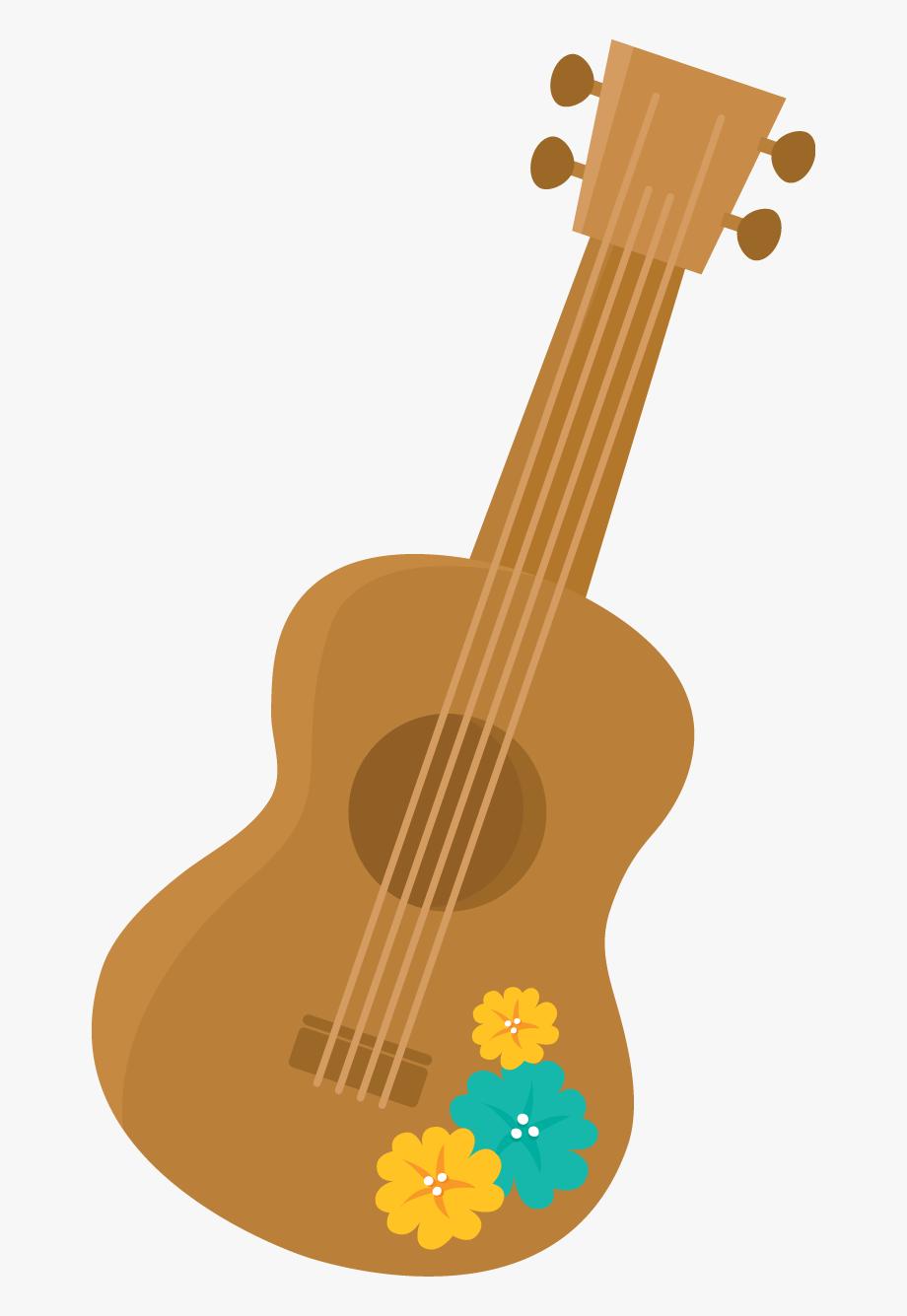 Luau clipart hawaiian guitar. Ukulele transparent