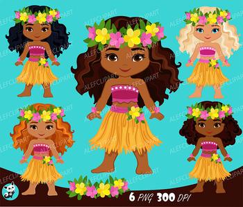 Luau clipart literacy. Dancers hawaii tropical hula