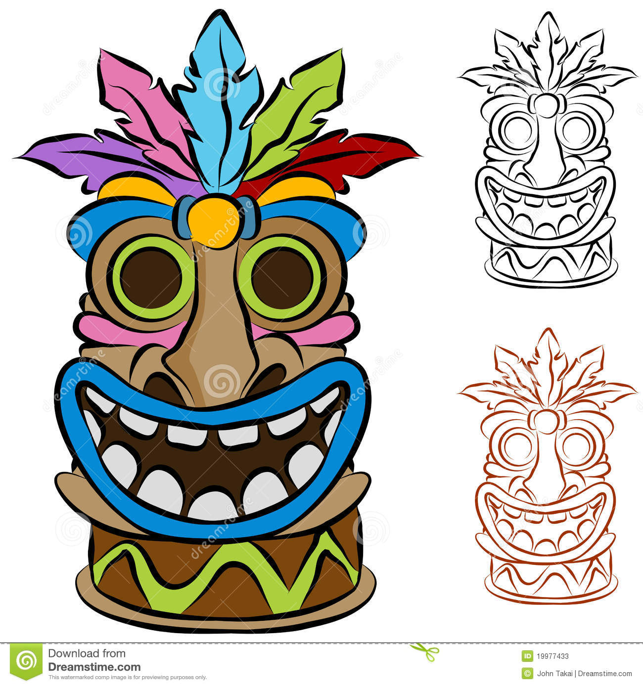 Luau clipart mask. Images free download best