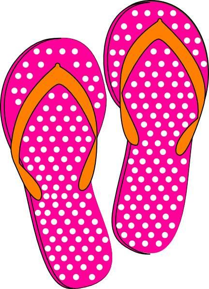 Luau clipart pink flip flop. Clip art flops clipartcow