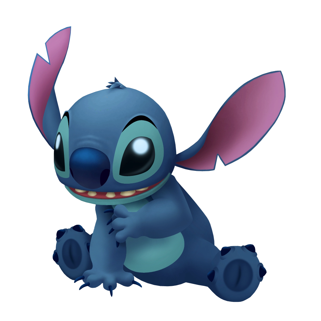 Kingdom hearts insider just. Stitch clipart main character