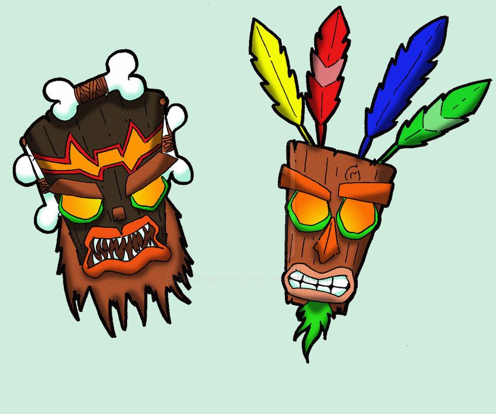 Luau clipart totem pole. The aku uka brothers