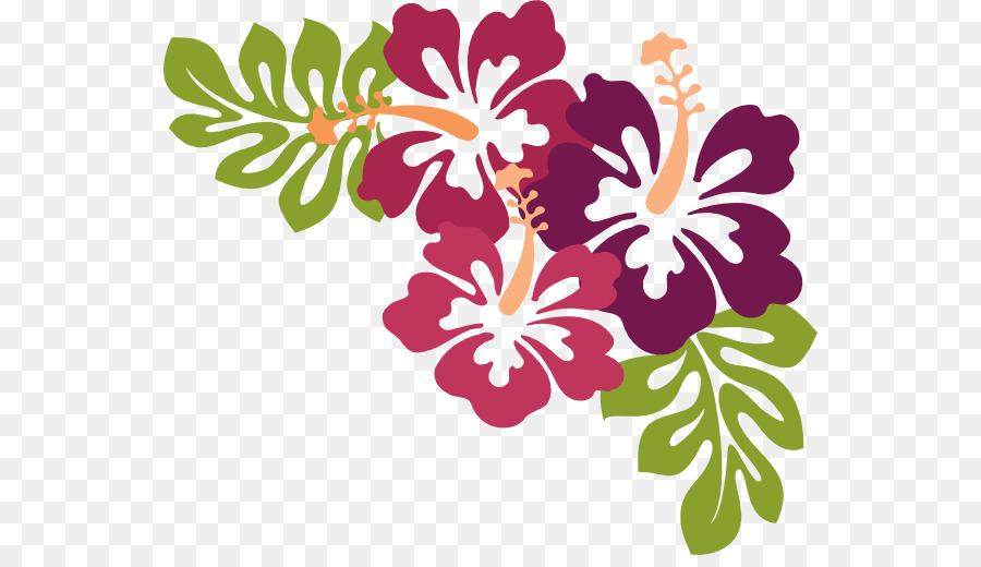 Family tree design flower. Luau clipart transparent