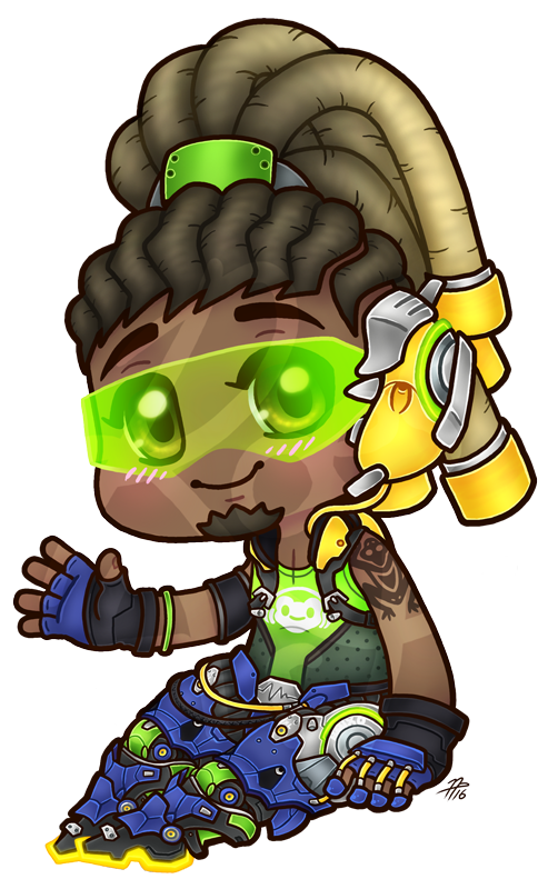 Chibi by roseannepage on. Lucio overwatch png