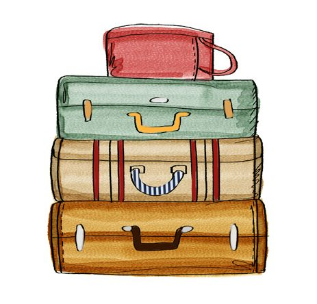 Image result for suitcase clipart | pictures | Pinterest | Suitcase ...