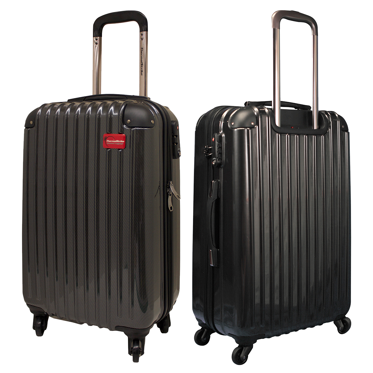 Luggage clipart 2 bag. Shiny black png image