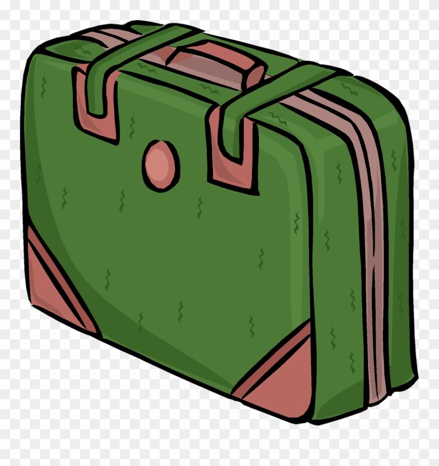 Dibujo de maleta rosa. Luggage clipart 2 bag