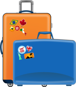 Clip art at clker. Luggage clipart