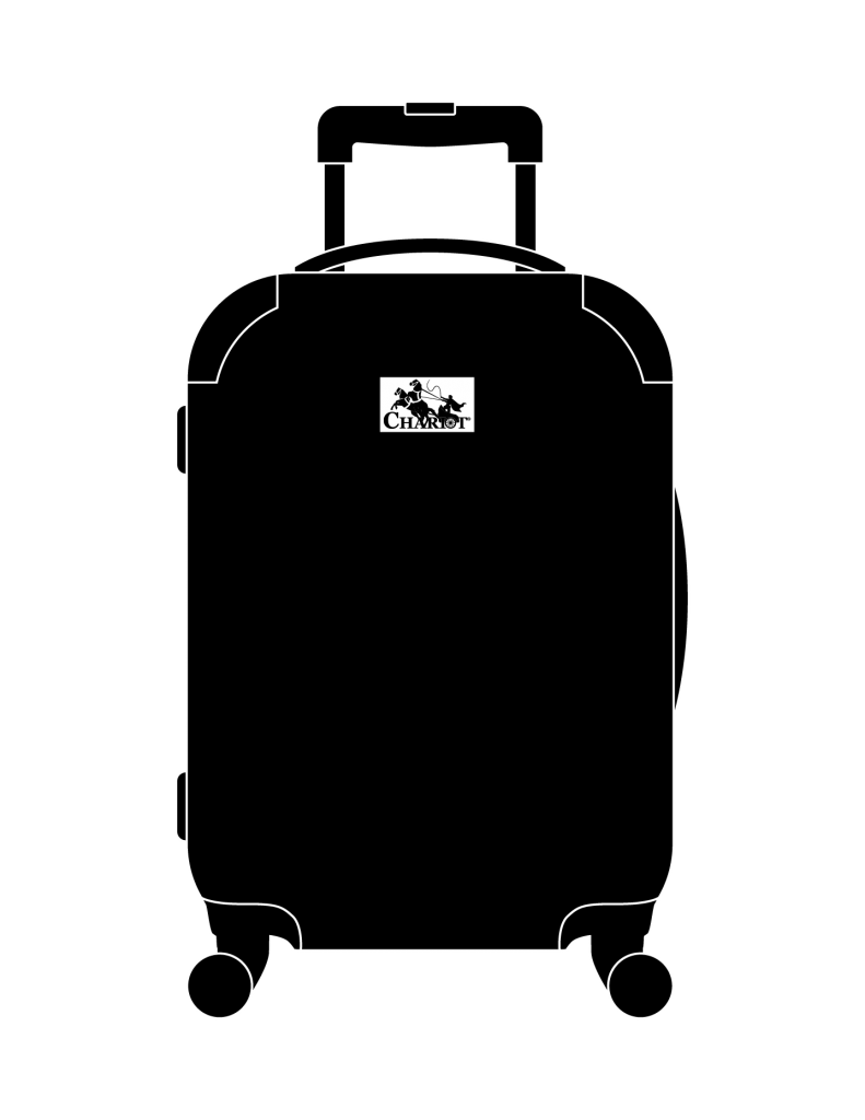 Chariot travelware high quality. Luggage clipart baggage cart
