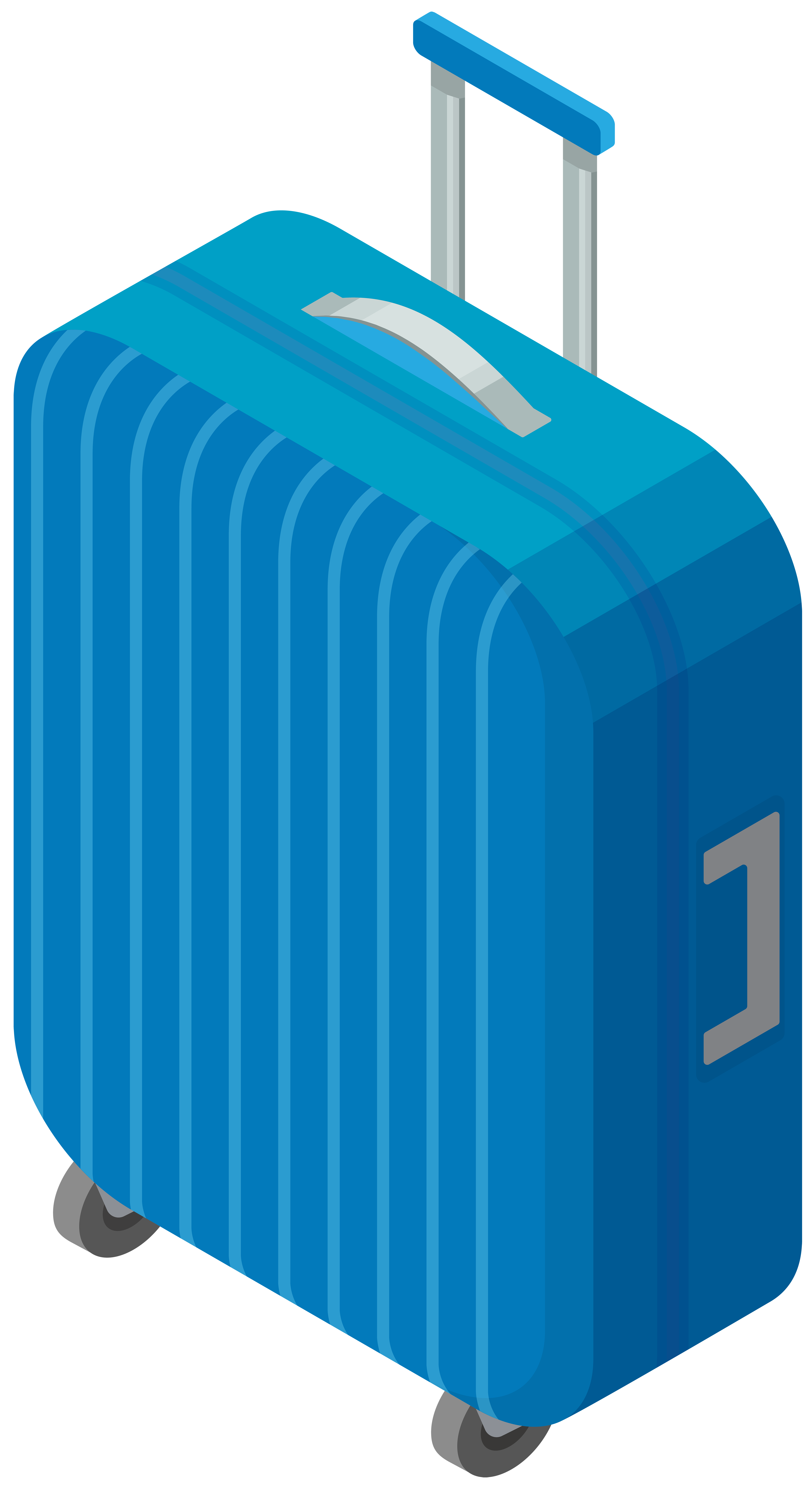 Trolley Bag Transparent Clip Art Image | Gallery Yopriceville ...