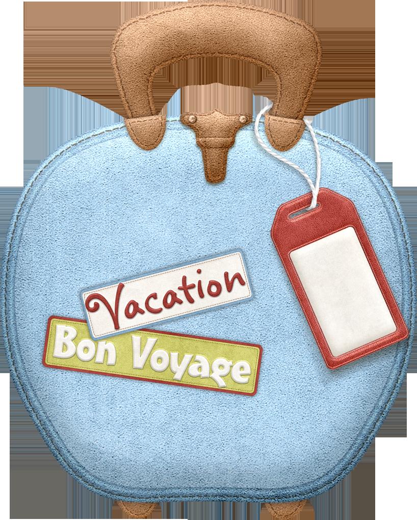 Maryfran png pinterest clip. Luggage clipart bon voyage