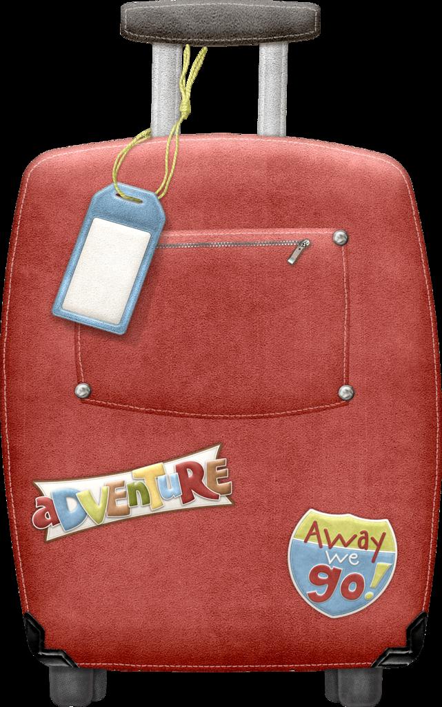 Maryfran png clip art. Luggage clipart bon voyage