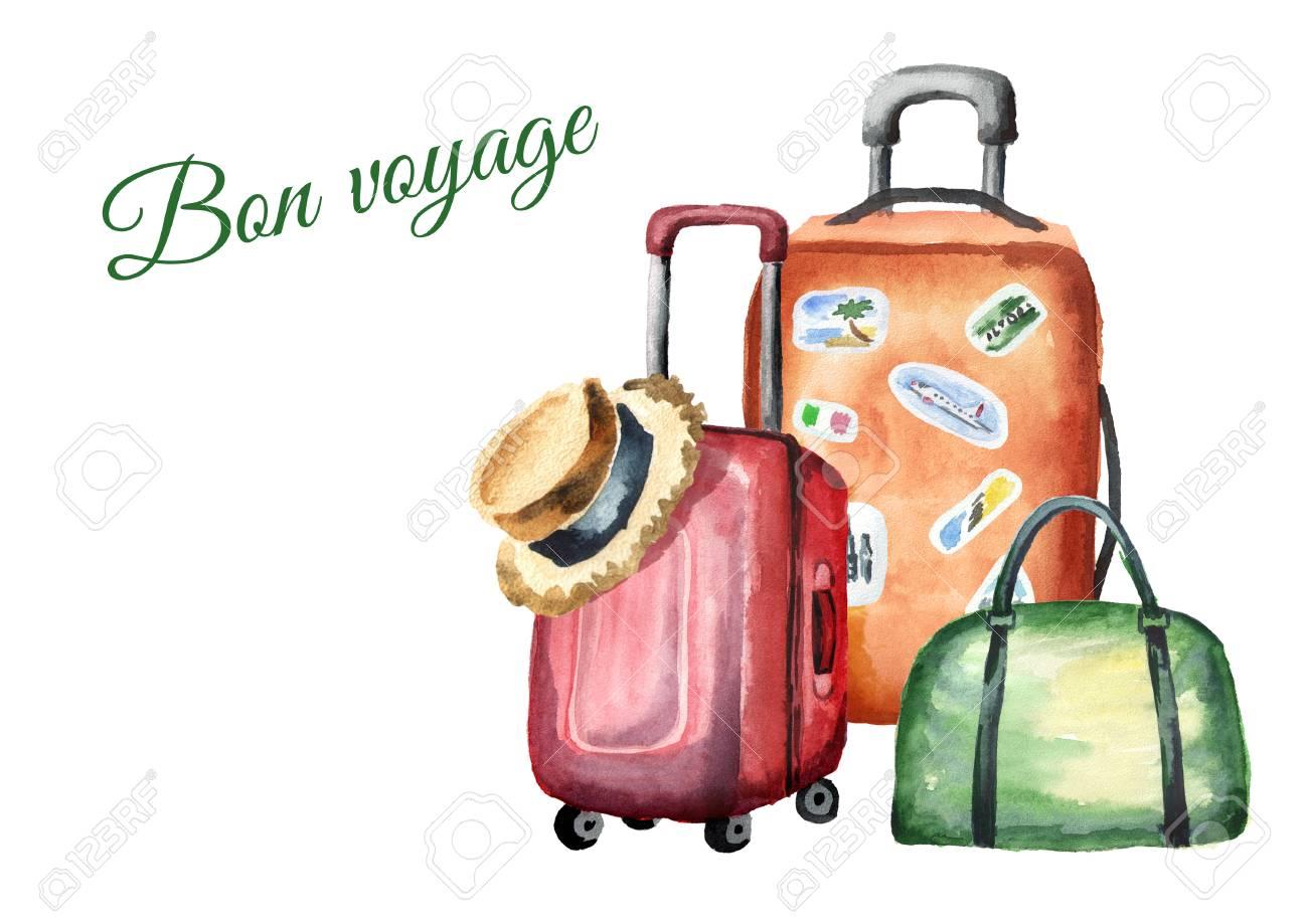 Free download clip art. Luggage clipart bon voyage