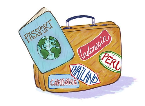Luggage clipart border. Free download clip art