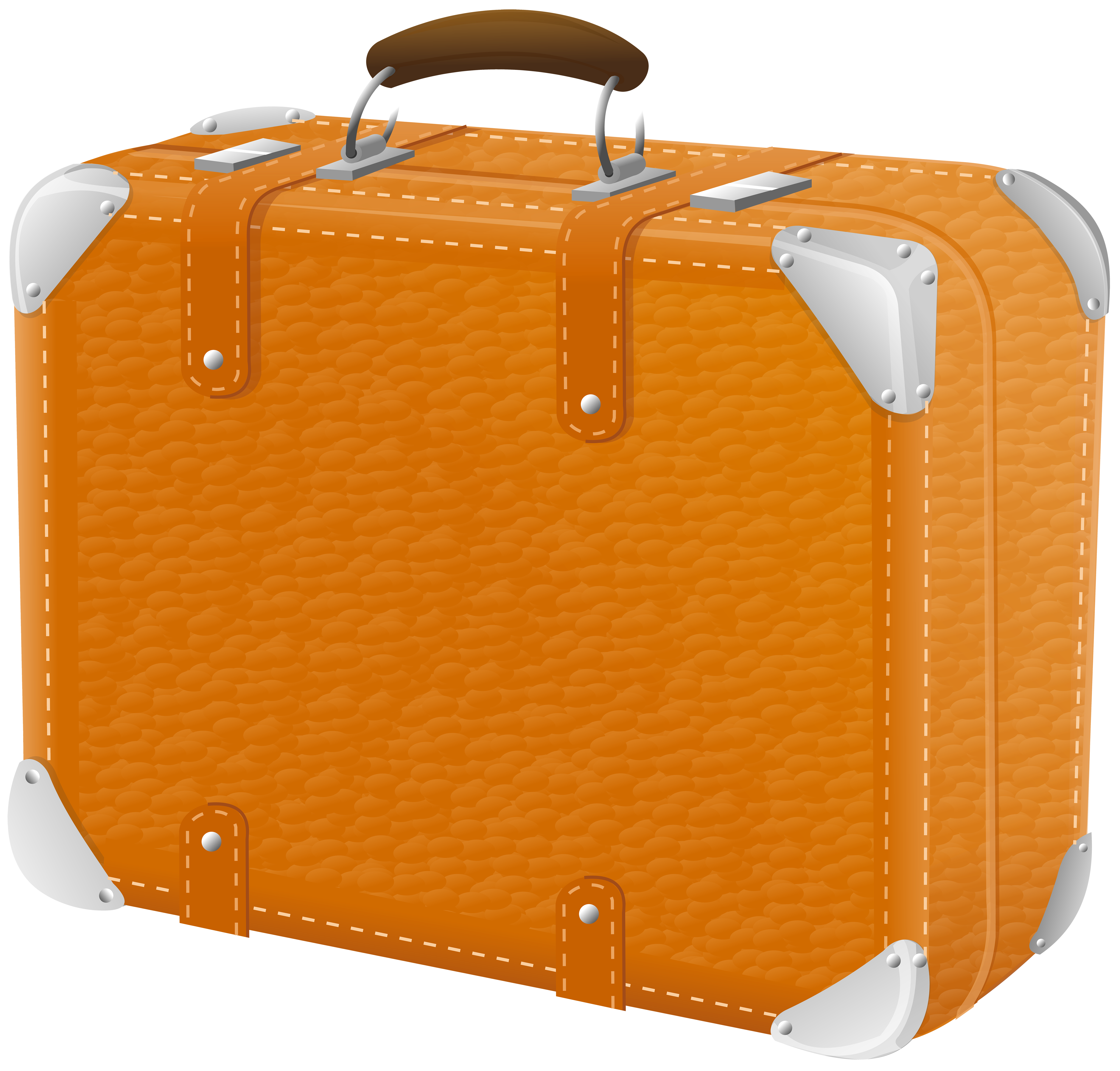 Suitcase transparent png image. Luggage clipart border