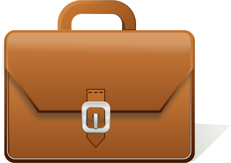 luggage clipart briefcase