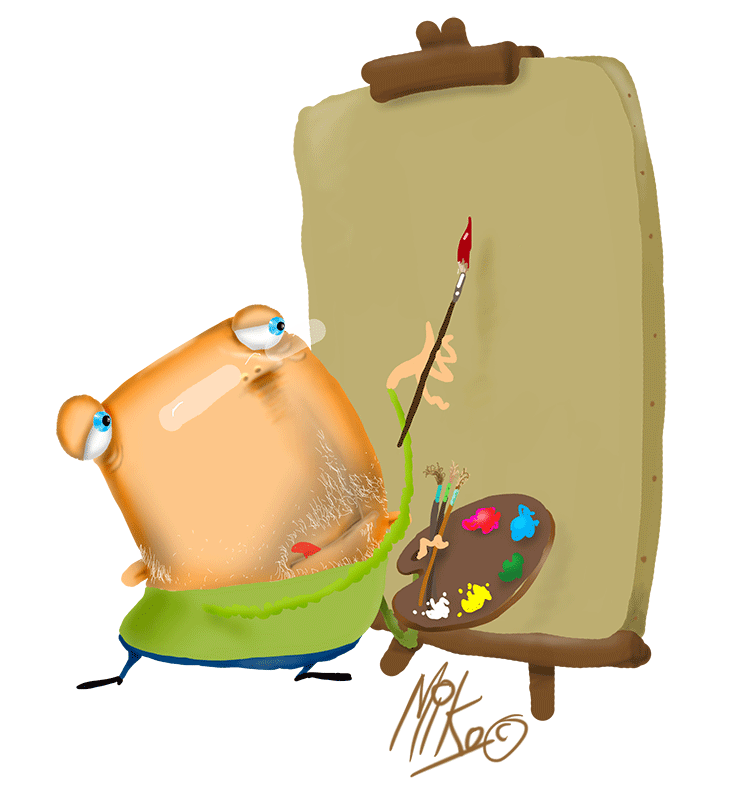 Luggage clipart brown suitcase. About us miko greetings
