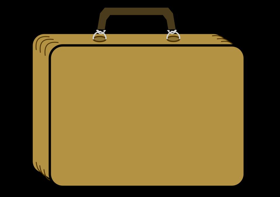 Luggage clipart business. Public domain clip art