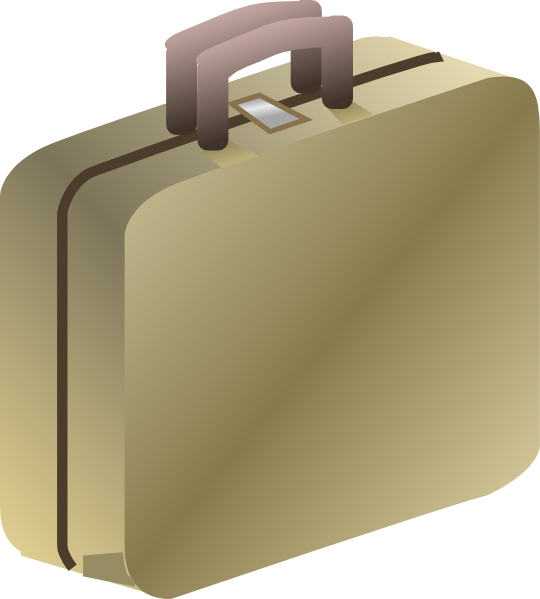 Suitcase clip art at. Luggage clipart business