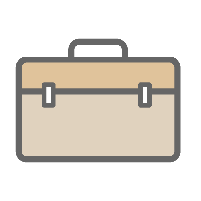 Bag free icon material. Luggage clipart business