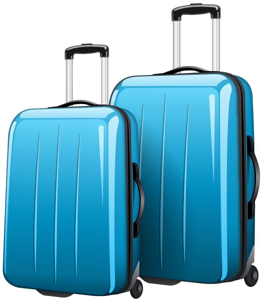 Luggage clipart carried. Travel bag anak traveling