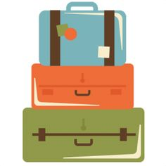Luggage clipart cute. Suitcase cliparts zone