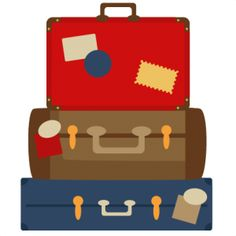 Luggage clipart cute. Free suitcase cliparts download