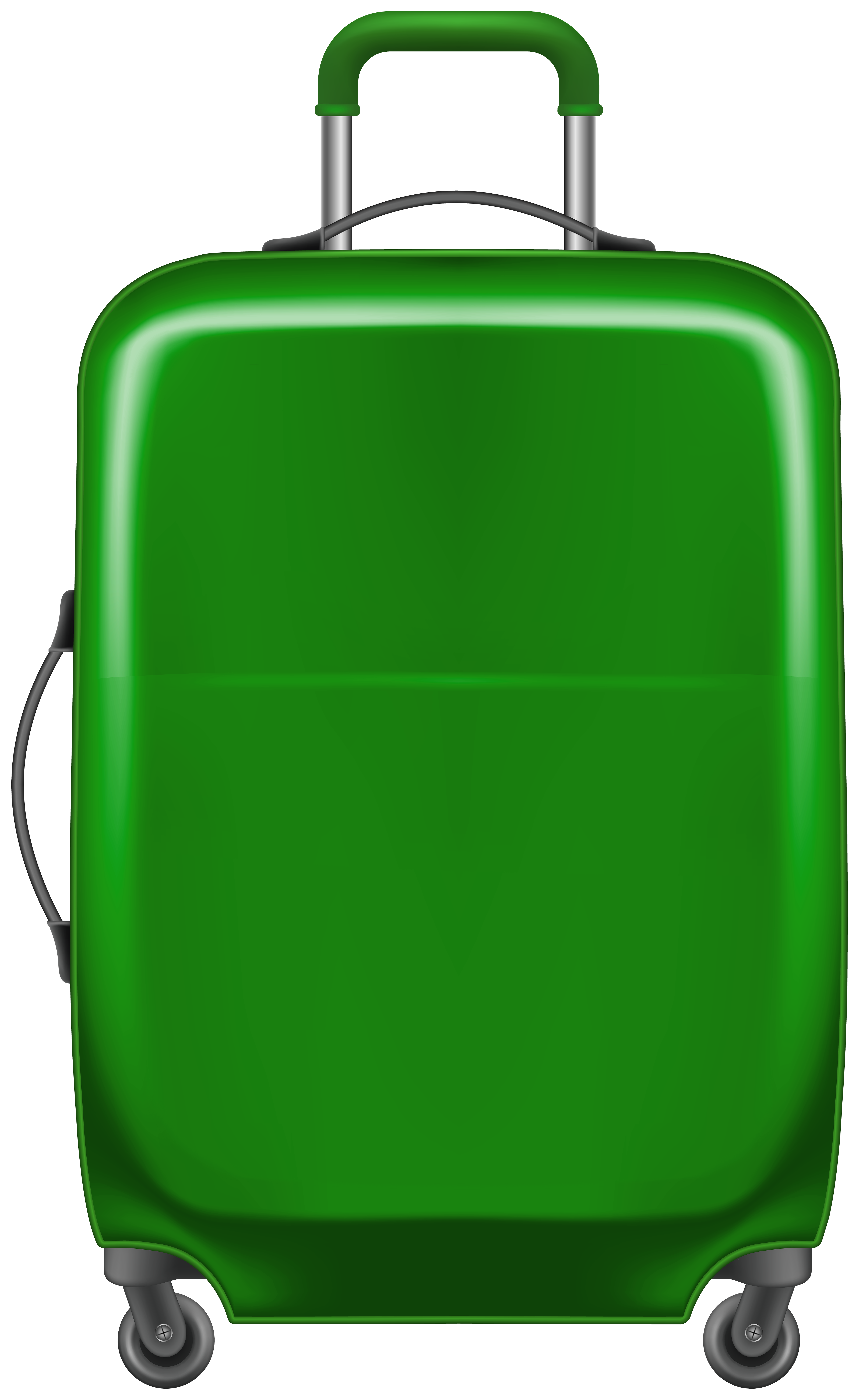 Luggage clipart green suitcase. Trolley bag png gallery