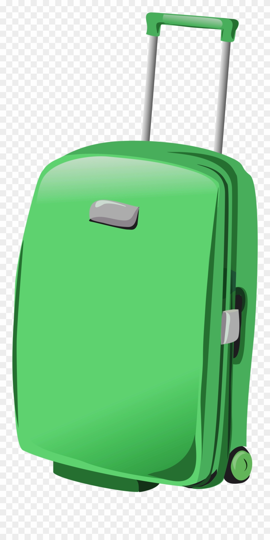 Luggage clipart green suitcase. Png clipartu b gallery