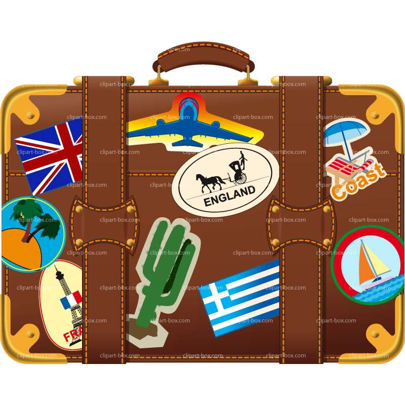 Luggage clipart holiday. Suitcase clipartfest cliparting com