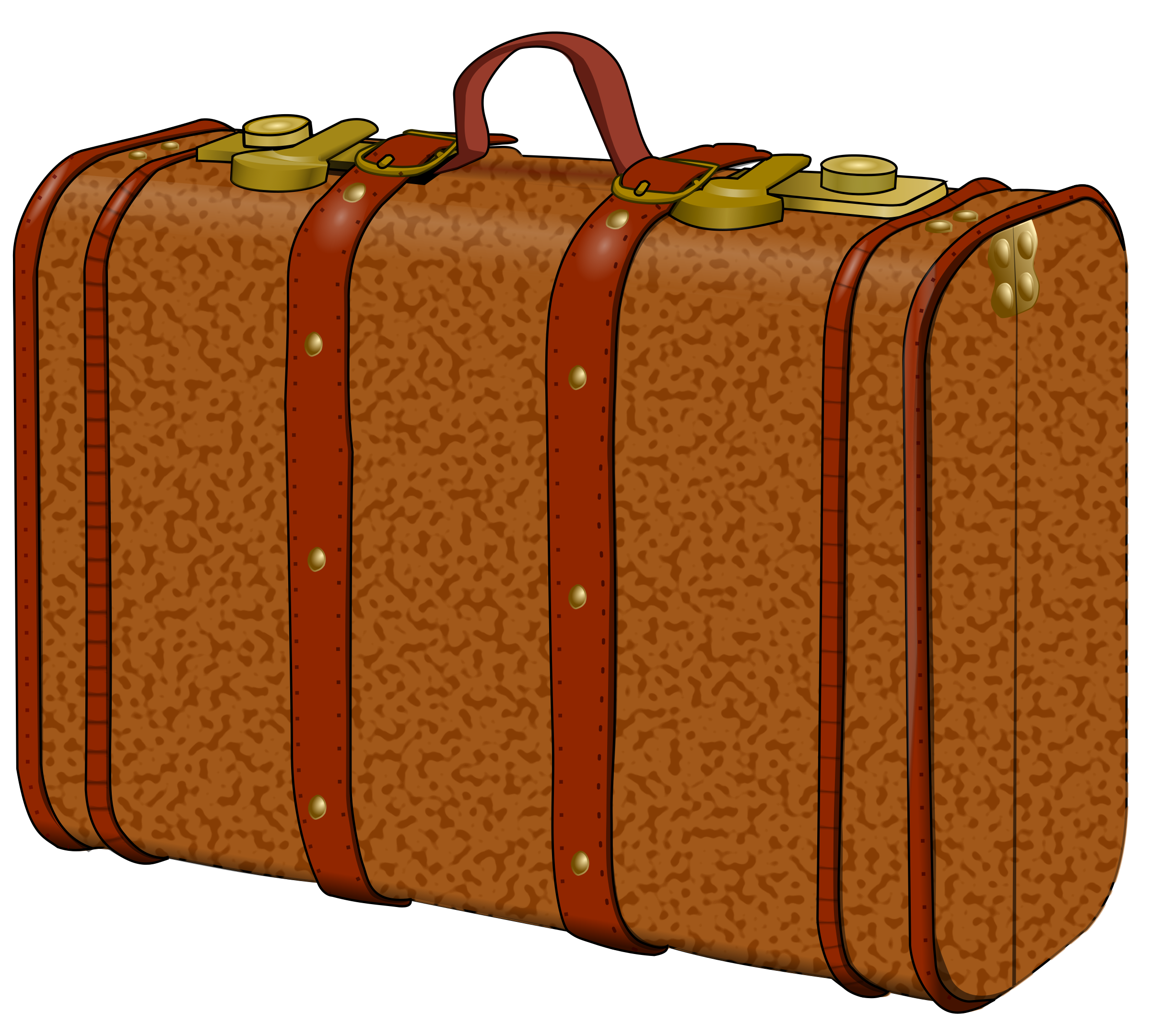 Luggage clipart holiday. Suitcase with stains icons