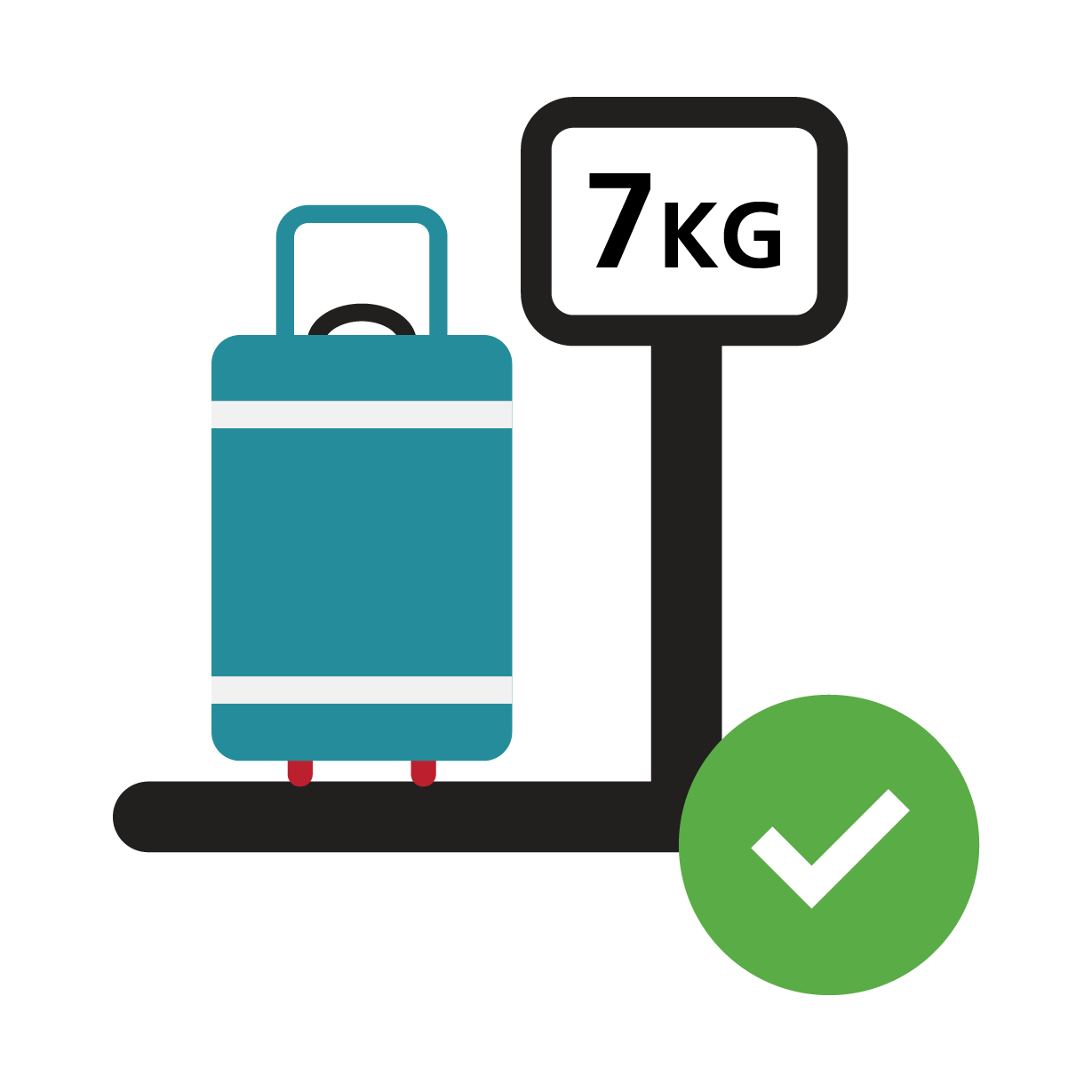Baggage awareness campaign carryon. Luggage clipart international travel