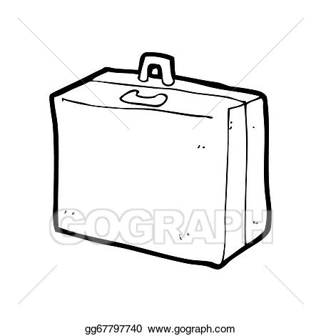 Luggage clipart lost luggage. Drawing cartoon gg