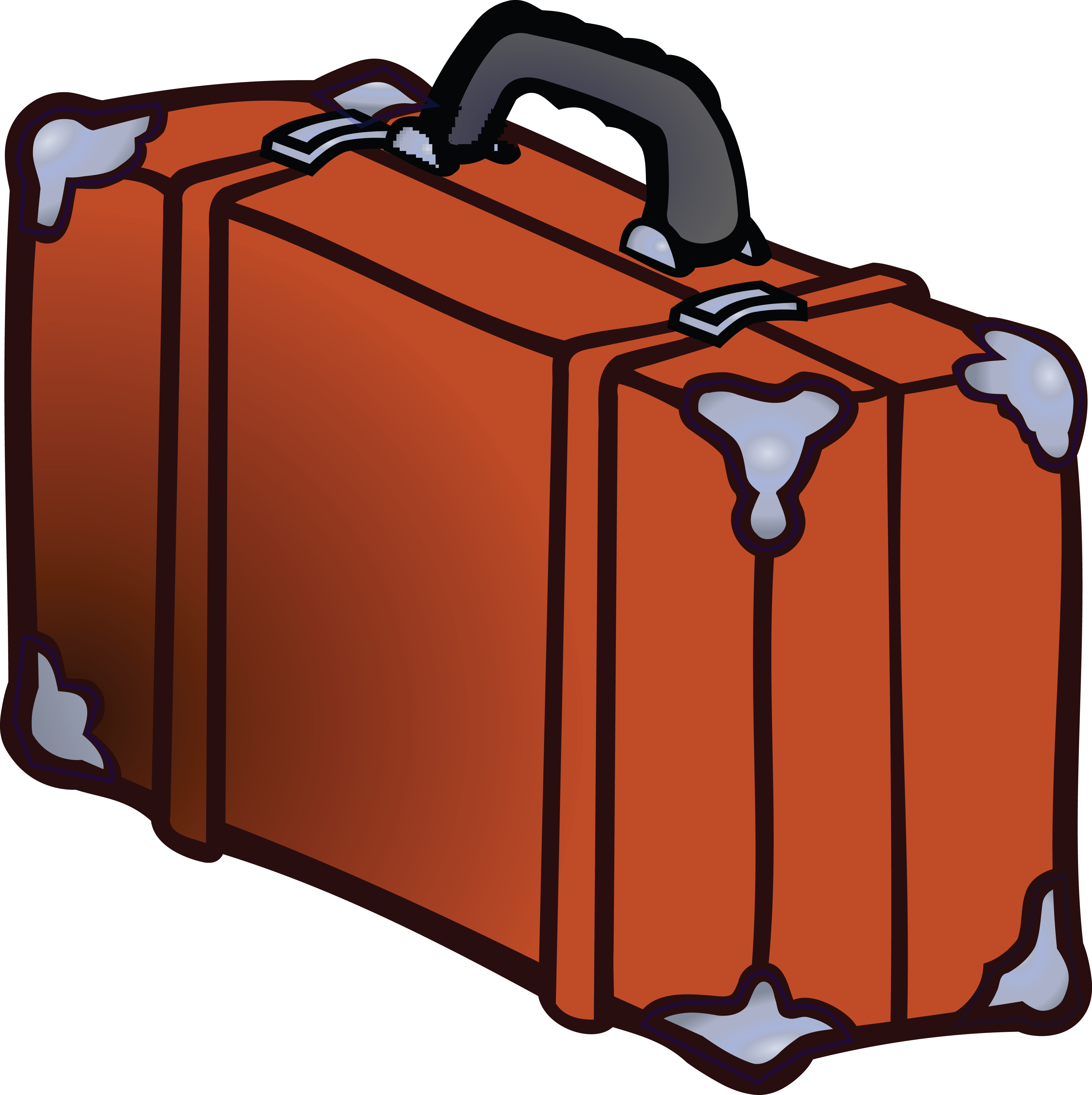 Luggage clipart lugagge.  clipartlook