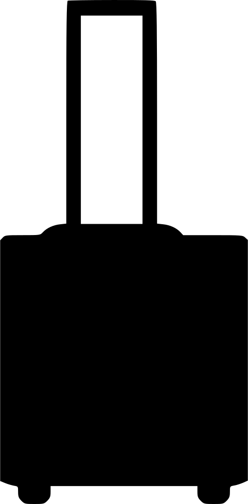Luggage clipart messy. Baggage travel bag svg