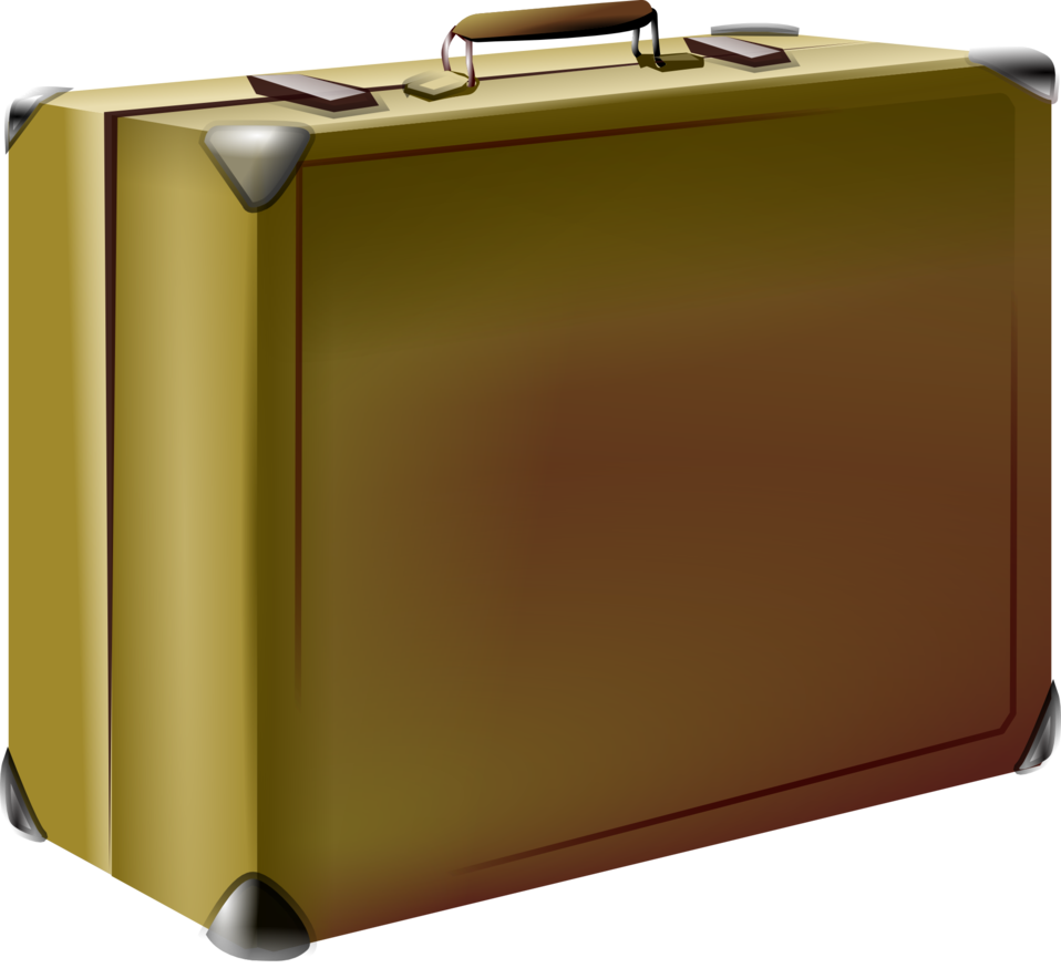 Luggage clipart opened suitcase. Public domain clip art