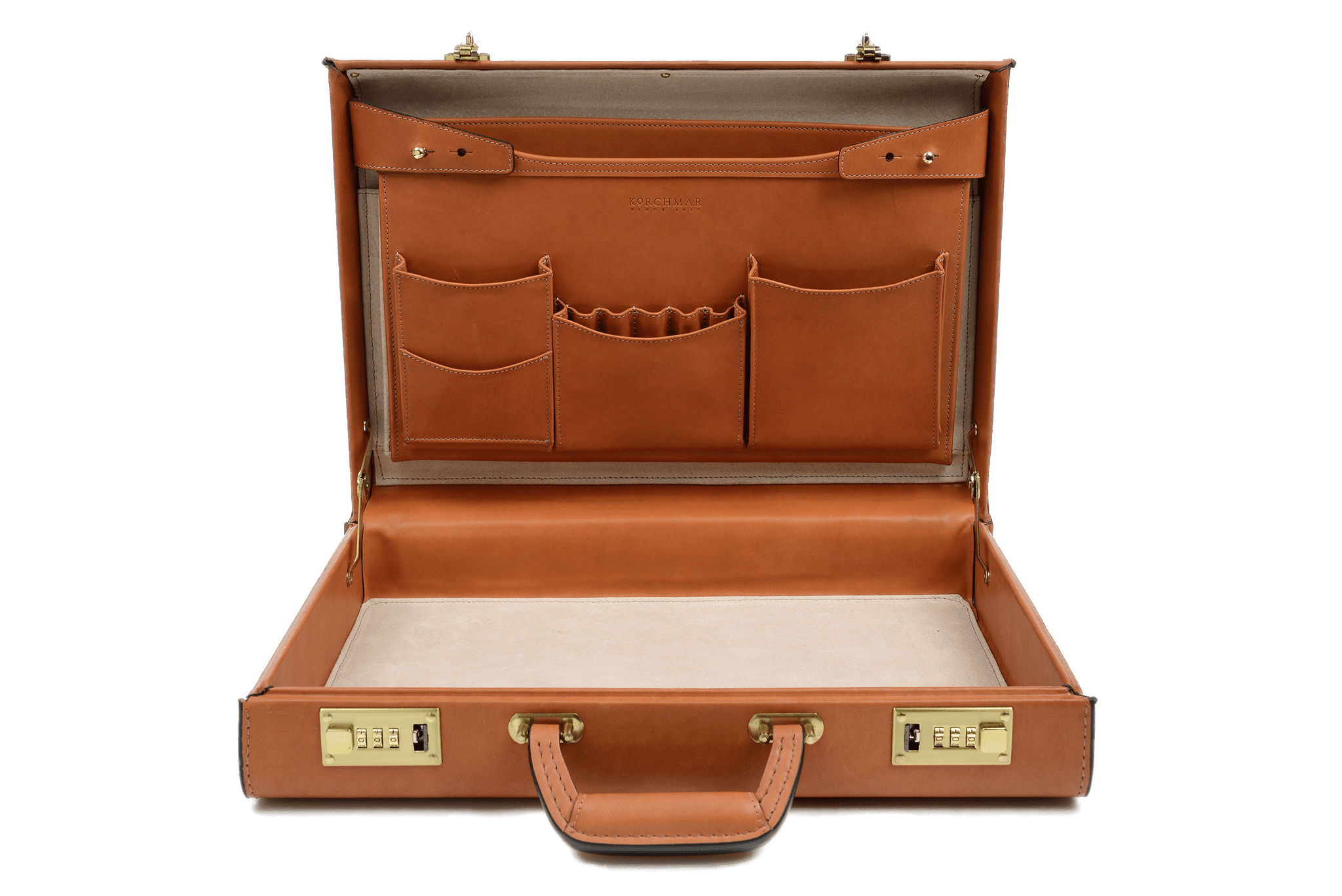 Open leather briefcase transparent. Luggage clipart opened suitcase